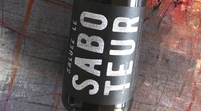 2015 Luddite Wines, Saluez le Saboteur Red, Western Cape, Sydafrika