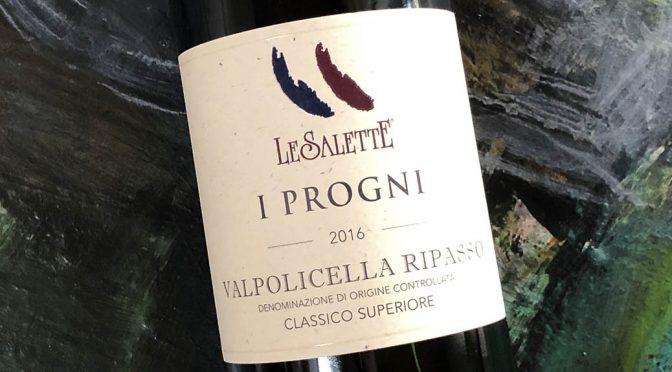 2016 Le Salette, I Progni Valpolicella Ripasso Classico Superior, Veneto, Italien