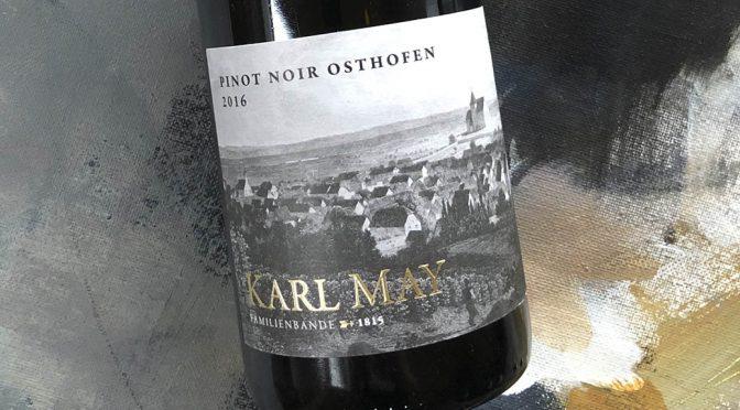 2016 Weingut Karl May, Osthofener Pinot Noir, Rheinhessen, Tyskland