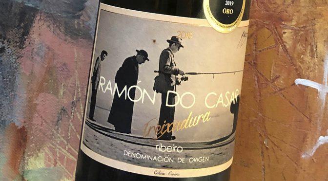 2018 Ramón do Casar, Treixadura, Galicien, Spanien