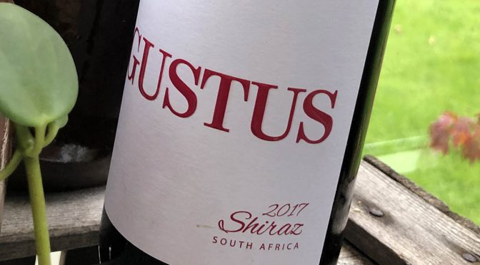 2017 Darling Cellars, Gustus Shiraz, Western Cape, Sydafrika