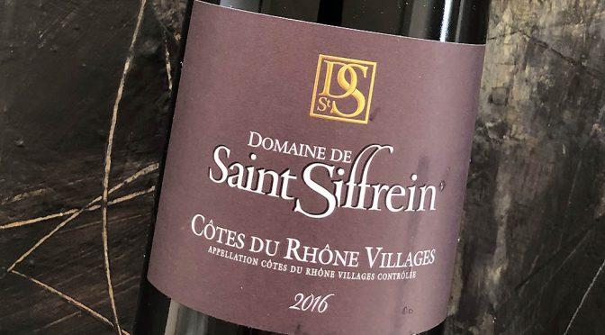2016 Domaine de Saint Siffrein, Côtes du Rhône Villages, Rhône, Frankrig