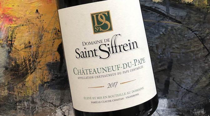 2017 Domaine de Saint Siffrein, Châteauneuf-du-Pape Blanc, Rhône, Frankrig