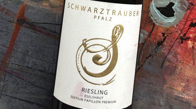 2018 Weingut Schwarztrauber, Riesling Mußbacher Eselshaut Edition Papillon Premium, Pfalz, Tyskland
