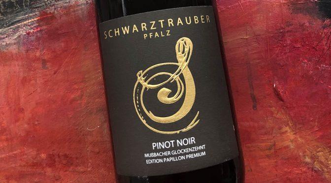 2017 Weingut Schwarztrauber, Pinot Noir Mußbacher Glockenzehnt Edition Papillon Premium, Pfalz, Tyskland