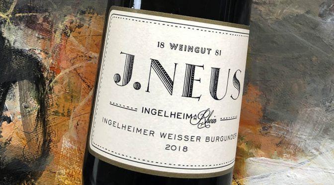 2018 Weingut J. Neus, Ingerheimer Weisser Burgunder, Rheinhessen, Tyskland