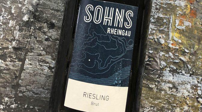 2017 Weingut Sohns, Riesling Brut, Rheingau, Tyskland