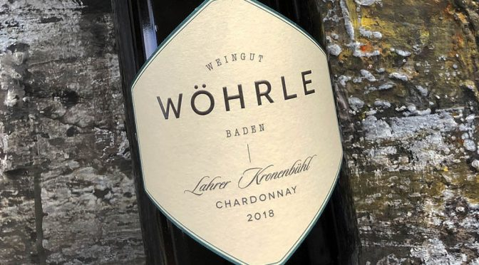 2018 Weingut Wöhrle, Lahrer Kronenbühl Chardonnay, Baden, Tyskland