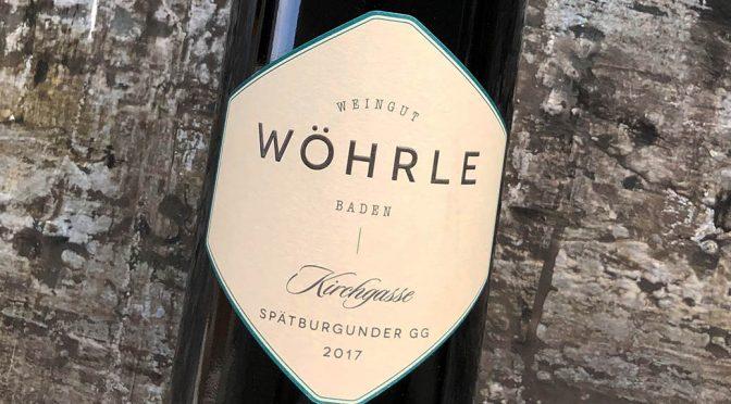 2017 Weingut Wöhrle, Lahrer Kirchgasse Spätburgunder GG, Baden, Tyskland