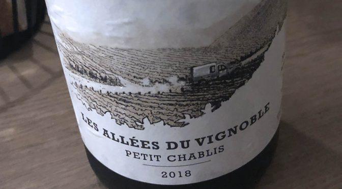 2018 Le Domaine d'Henri, Les Allées du Vignoble Petit Chablis, Bourgogne, Frankrig