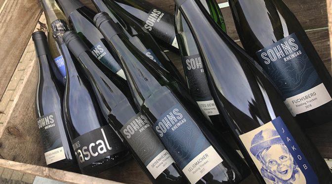 Weingut Sohns smagning … et glædelig gensyn & nu tilgængelig herhjemme