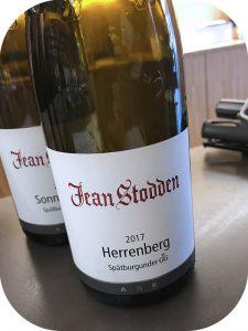 2017 Weingut Jean Stodden, Recher Herrenberg Spätburgunder GG, Ahr, Tyskland