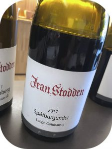 2017 Weingut Jean Stodden, Spätburgunder Lange Goldkapsel, Ahr, Tyskland