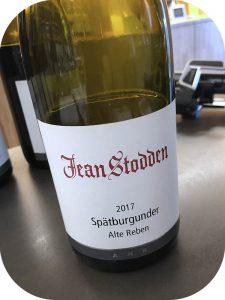 2017 Weingut Jean Stodden, Spätburgunder Alte Reben, Ahr, Tyskland
