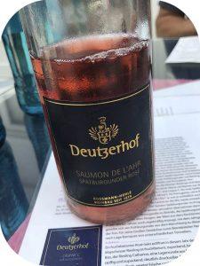 2018 Weingut Deutzerhof, Saumon de l'Ahr Spätburgunder Rosé, Ahr, Tyskland