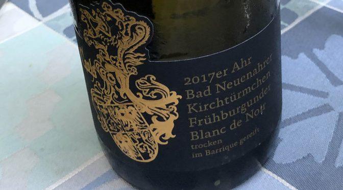 2017 Weingut Franz Coels, Bad Neuenahrer Kirchtürmchen Frühburgunder Blanc de Noir, Ahr, Tyskland