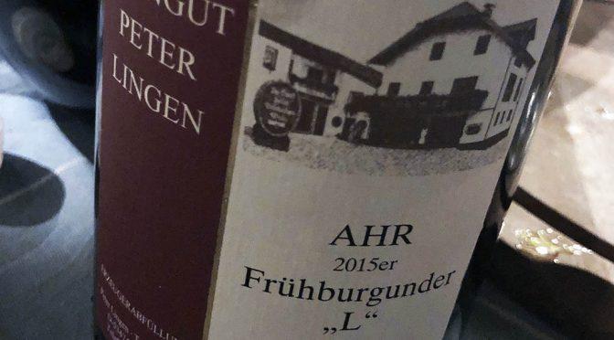 2015 Weingut Peter Lingen, Frühburgunder L, Ahr, Tyskland