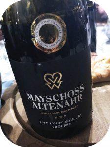 2017 Winzergenossenschaft Mayschoß-Altenahr, Pinot Noir R, Ahr, Tyskland