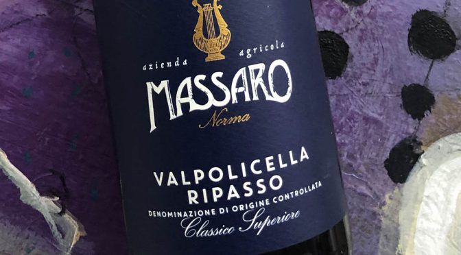 2015 Massaro Norma, Valpolicella Ripasso Classico Superiore, Veneto, Italien