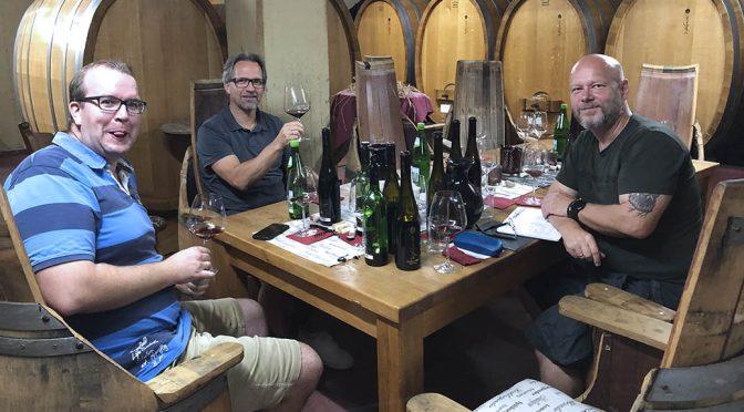 Besøg hos Weingut Peter Kriechel … og vollgas med den rareste spas- og vinmager Peter