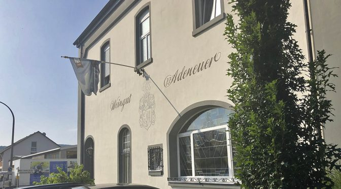 2018 Weingut Adeneuer, Blanc de Noir Spätburgunder, Ahr, Tyskland