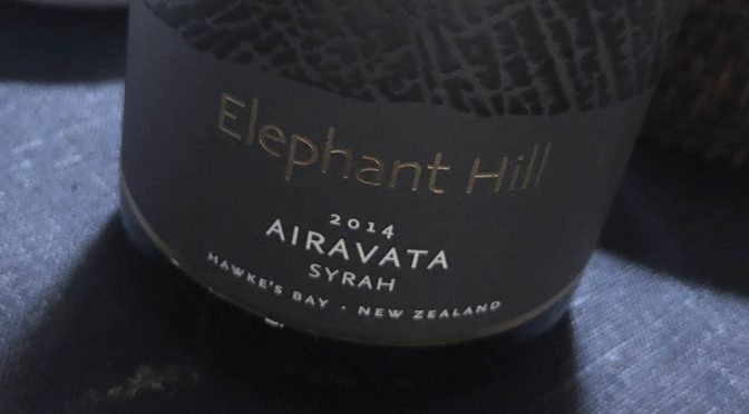 2016 Elephant Hill, Airavata Syrah, Hawkes Bay, New Zealand