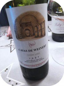 1997 Bodega y Cavas de Weinert, Gran Vino, Mendoza, Argentina