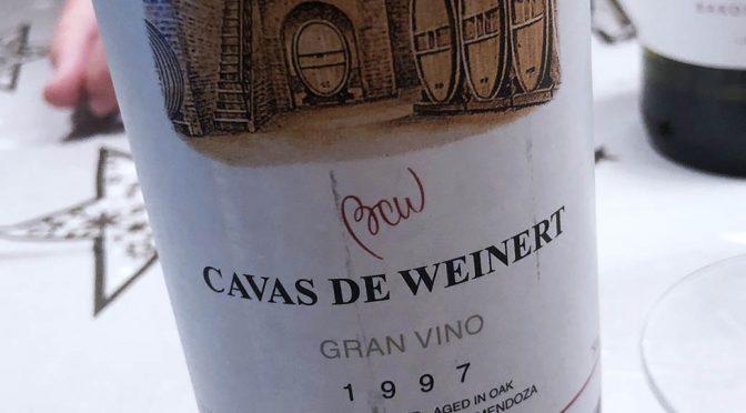 1997 Bodega y Cavas de Weinert, Cavas de Weinert Gran Vino, Mendoza, Argentina