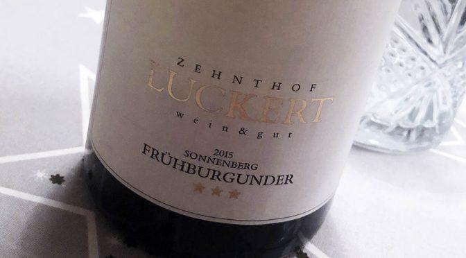 2015 Weingut Zehnthof Luckert, Sulzfelder Sonnenberg Frühburgunder, Franken, Tyskland