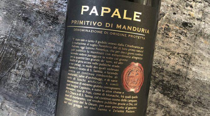 2015 Varvaglione Vigne & Vini, Papale Linea Oro Primitivo di Manduria, Puglia, Italien