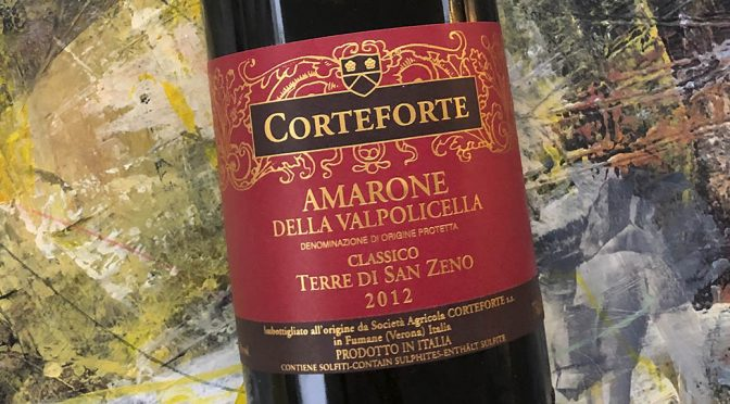 2012 Corteforte, Amarone della Valpolicella Classico Terre di San Zeno, Veneto, Italien