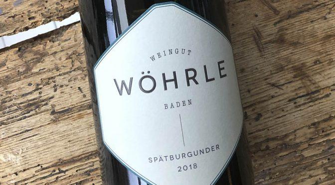 2018 Weingut Wöhrle, Spätburgunder, Baden, Tyskland