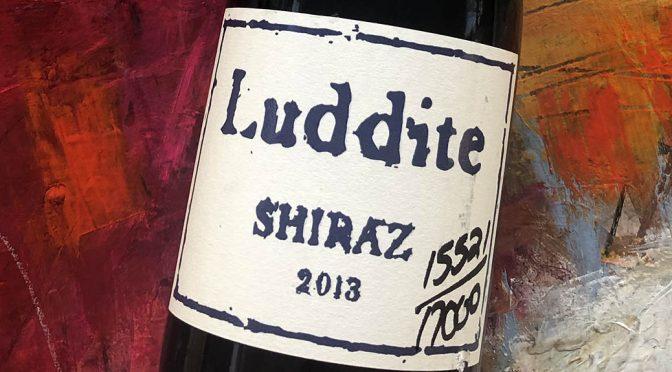 2013 Luddite Wines, Shiraz, Western Cape, Sydafrika