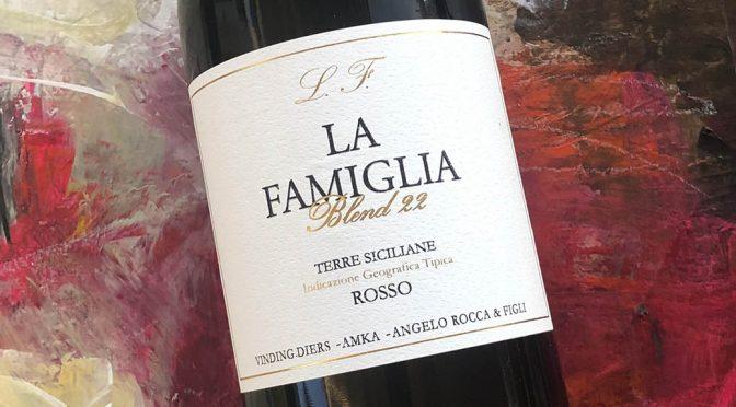 2017 Angelo Rocca & Figli, La Famiglia Blend 22 Terre Siciliane Rosso IGT, Sicilien, Italien