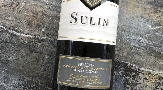 2017 Sulin, Chardonnay, Piemonte, Italien