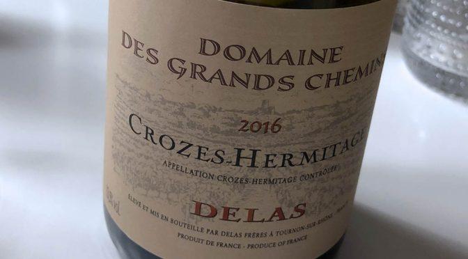 2016 Delas Frères, Crozes-Hermitage Les Grands Chemins, Rhône, Frankrig