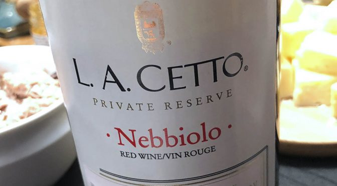 2013 L. A. Cetto, Nebbiolo Private Reservè, Baja California, Mexico