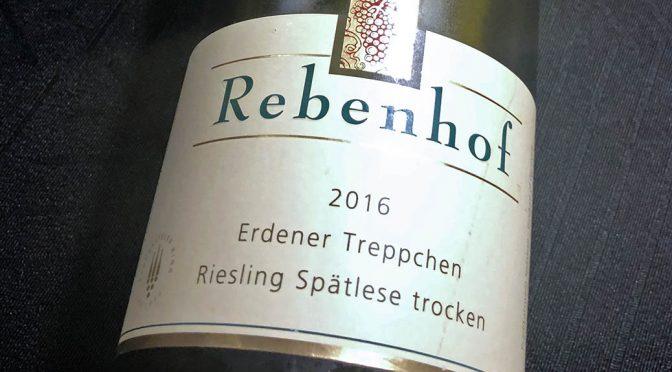 2016 Weingut Rebenhof, Erdener Treppchen Riesling Spätlese Trocken, Mosel, Tyskland