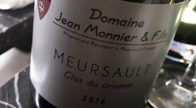 2016 Jean Monnier & Fils, Meursault Clos de Cromin, Bourgogne, Frankrig