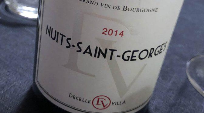 2014 Decelle Villa, Nuit-Saint-Georges, Bourgogne, Frankrig