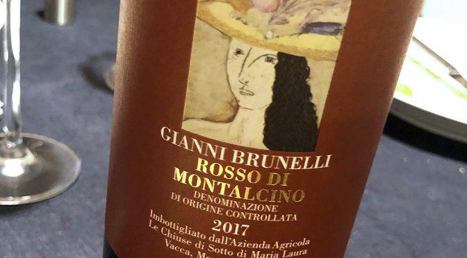 2017 Gianni Brunelli, Rosso di Montalcino, Toscana, Italien