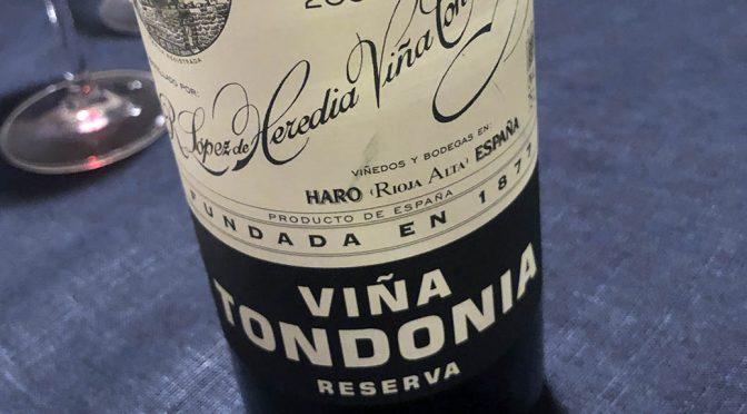 2007 R. López de Heredia Viña Tondonia, Viña Tondonia Reserva, Rioja, Spanien