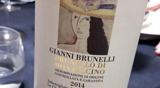 2014 Gianni Brunelli, Brunello di Montalcino, Toscana, Italien