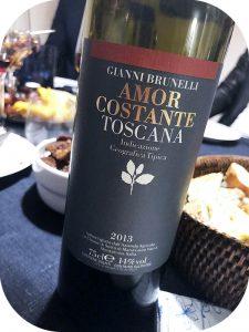 2013 Gianni Brunelli, Amor Costante IGT, Toscana, Italien