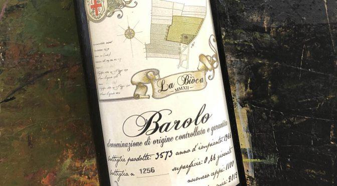 2012 La Biòca, Barolo Aculei, Piemonte, Italien