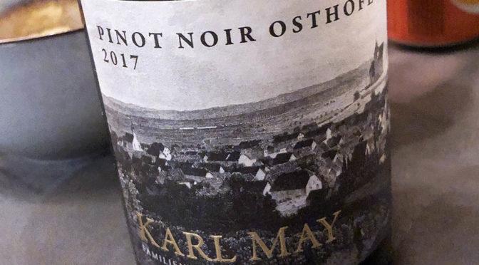 2017 Weingut Karl May, Osthofener Pinot Noir, Rheinhessen, Tyskland