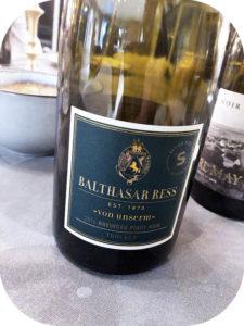 2016 Weingut Balthasar Ress, Von Unserm Rheingau Pinot Noir, Rheingau, Tyskland