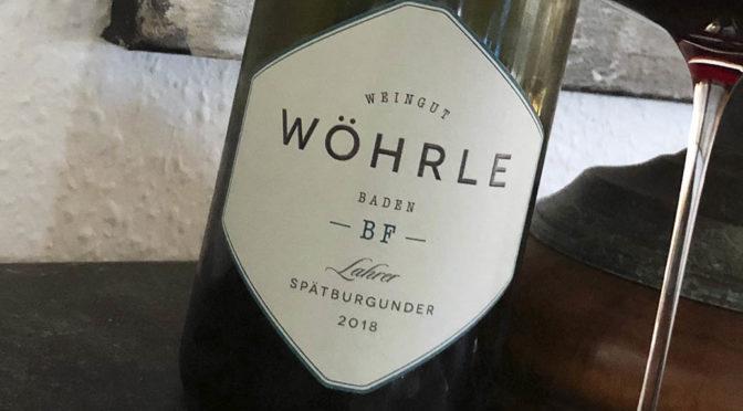 2018 Weingut Wöhrle, Lahrer Spätburgunder Bestes Fass, Baden, Tyskland
