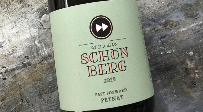 2018 Weingut Schloss Schönberg, PetNat Fast Forward, Hessiche Bergstrasse, Tyskland