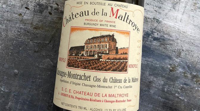 2005 Château de la Maltroye, Chassagne-Montrachet 1. Cru Clos du Château de la Maltroye, Bourgogne, Frankrig